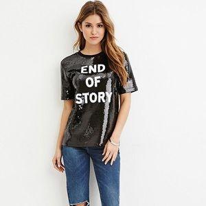 Sequin T shirt